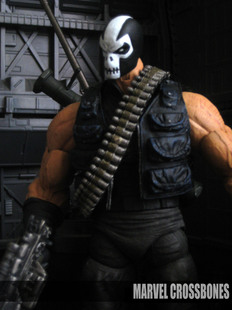 Marvel Legends DIY Customs CROSSBONES  叉骨  展示用