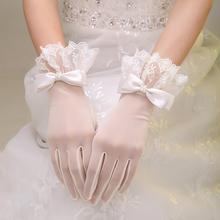 2019新しい花嫁の結婚の結婚式の手袋ブライダル手袋のイブニングドレスの手袋短い糸レースの手袋アクセサリー