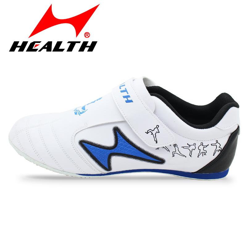 Hals и тхэквондо обувь взрослых детей обувь Мужская одежда дышащие материалы сухожилия Tae kwon делает в конце дороги подлинной