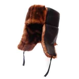 Yiji decorative winter fur hat ear cap Lei Feng cap outdoor male hat cap elderly men in hats autumn and winter