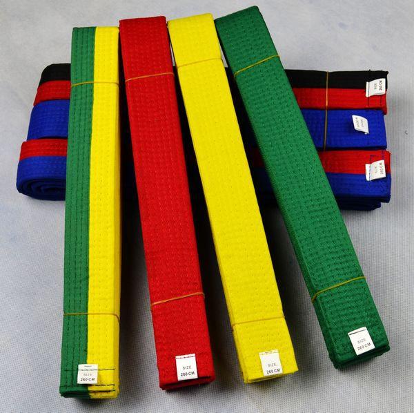 Хлопок основной кикбоксингу вышитые ремни тхэквондо ремни вышивка дорога пояса вышивка фабрика прямой спец