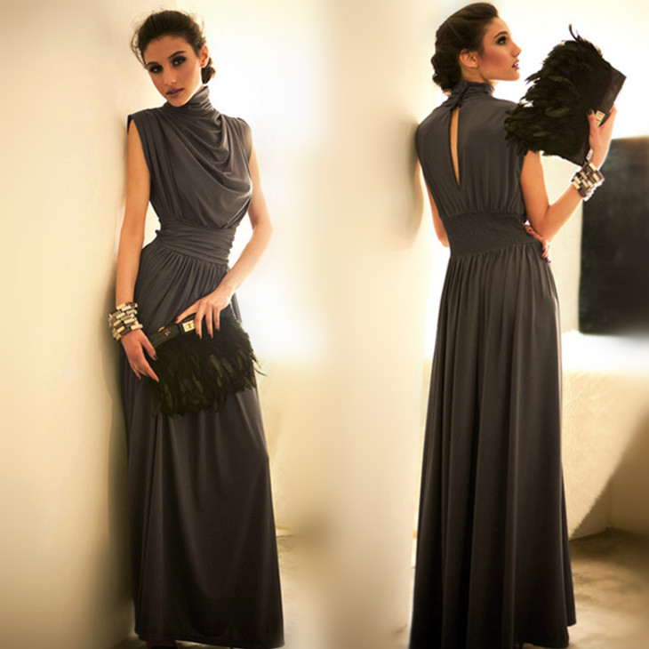 Chaochang вентилятор Европы тонкий платье длиной Платье вечернее платье невесты тосты летние платья вечерние шоу