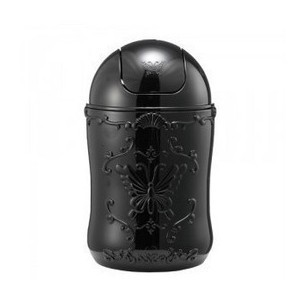 Anna Sui cosmetics style storage cylinder peel black trash barrel Desktop debris bucket 550g