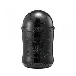 Anna Sui хранения косметики стиль цилиндр корки черного мусора баррель рабочего мусорное ведро 550г