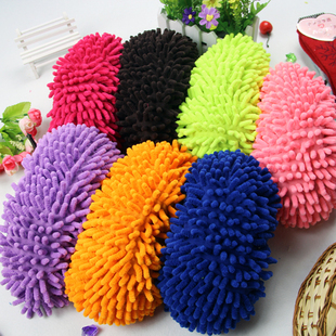Full 28 yuan microfiber chenille slippers lazy wipe slippers washable gloves a price
