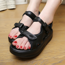 Hillary sandals swing platform platform wedges sexy club platform shoes shoes to lose weight increased shake shoes big yards