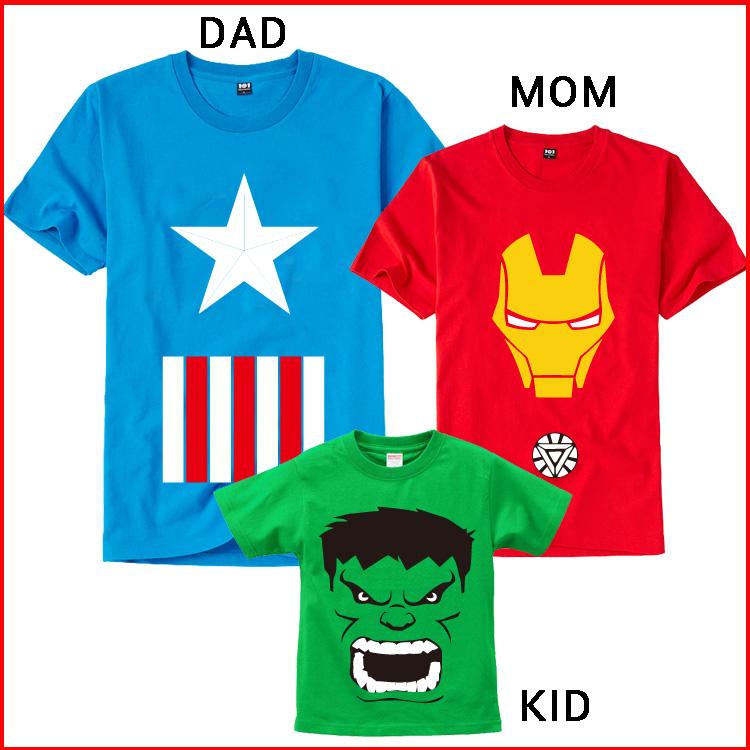 Творческие Мстители Железный человек США Халк капитан пары хлопок плюс размер мужчин и женщин t рубашка