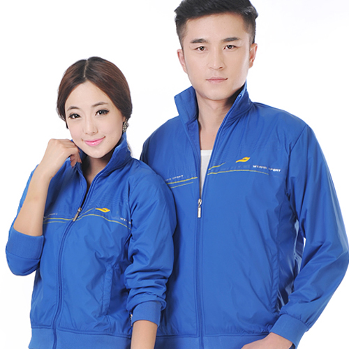 Spring and autumn big size loose sportswear fitness jacket double layer fabric mens and womens single piece sweater couple casual wear