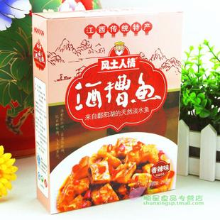Poyang Lake in Jiangxi Wuyuan Mall genuine customs lees fish specialty spicy appetizer snacks 260g