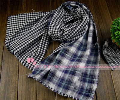 Экспорт-двухслойная ткань хлопок двухсторонний шарф ткань окрашенная пряжа плед ткани младенца рубашку ткани хлопчатобумажные
