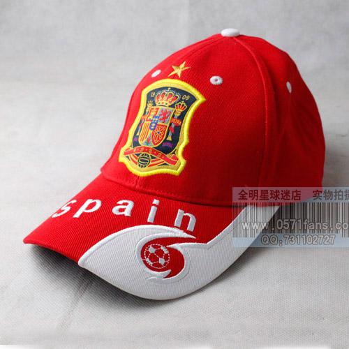 Вентилятор оборудовать логотип команды Испании вышитые ВС шляпу крышки бейсбол крышки Футбол Красная шапочка