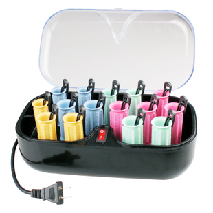 Arrows Wang hair cylinder rechargeable electronic electric curlers hair does not hurt the hair stick large 15 installed