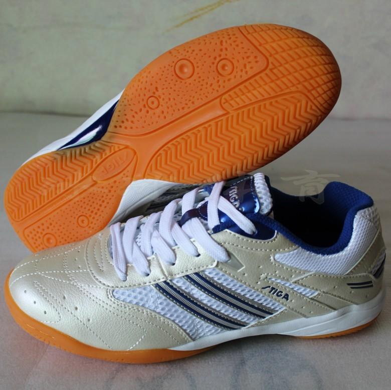 Подлинные лицензированных безопасности STIGA стальные карты Настольный теннис обувь Синий G1108017 1108013