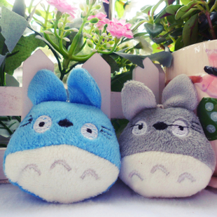 Hayao Miyazaki Totoro doll cartoon bouquet small mobile phone pendant doll plush toys wholesale wedding gifts