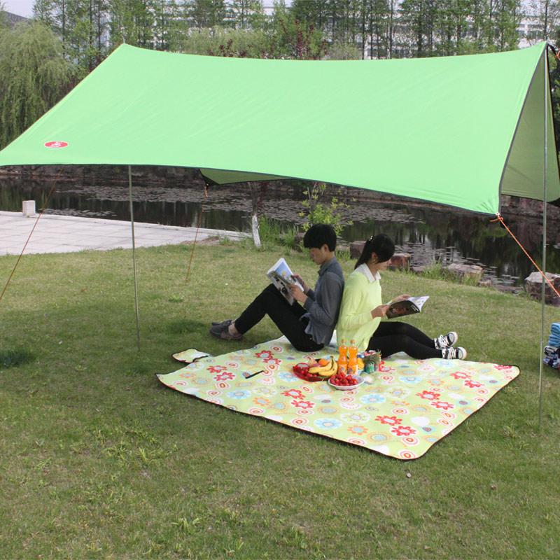 Au Lac друзья палатки навес палатки тентовые тентовые аксессуары люди супер счета портативный солнце тень