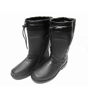 Specials 3519 men s fashion in the tube warm lace boots motorcycle boots plus velvet aquaplaning grain leather overshoes