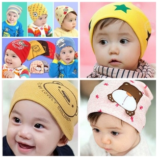 Male and female baby baby hat children set of head cap batting Cubs hat newborn child hat baby hat cap