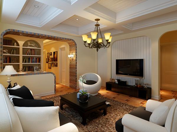 家装房屋室内装修全套施工图设计田园风格效果资深设计师定制
