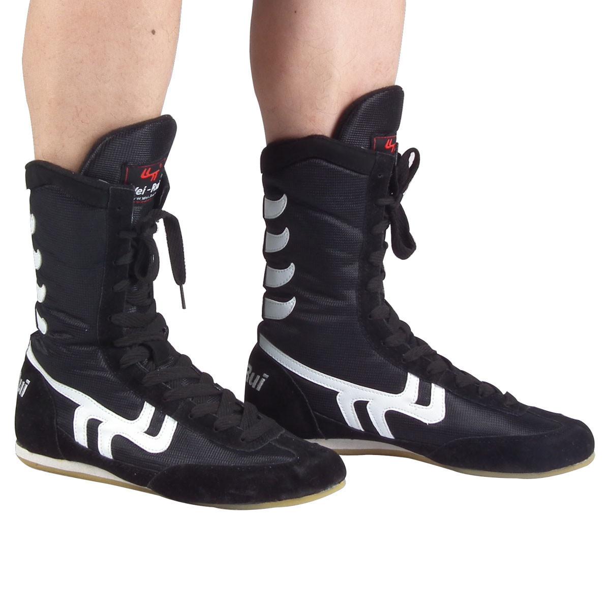 Подлинный престиж швейцарский бокс обувной талия бокс обувной саньшоу (свободный спарринг) борьба забастовка бросать упорная борьба ушу сухожилие натуральная кожа воздухопроницаемый + обувь, сумки