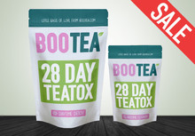 Spot free mail UK selling Bootea 14/28 day of pure natural detox slimming slimming tea plants