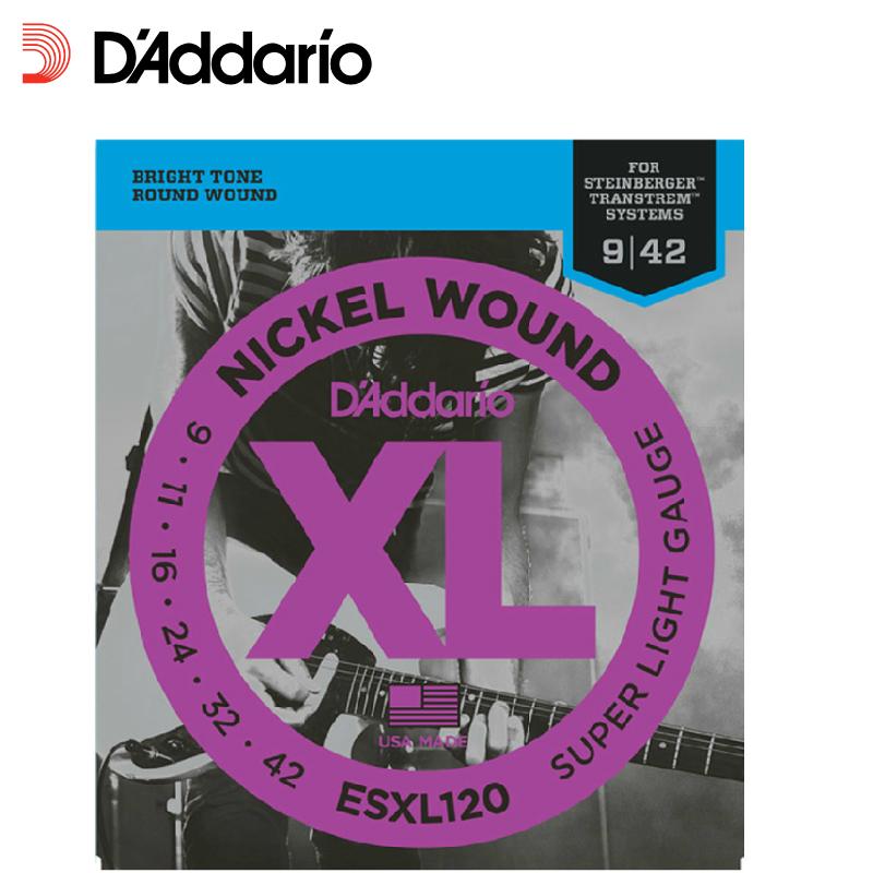 达达里奥 Nickel Wound 9-42 电吉他弦斯坦伯格ESXL120