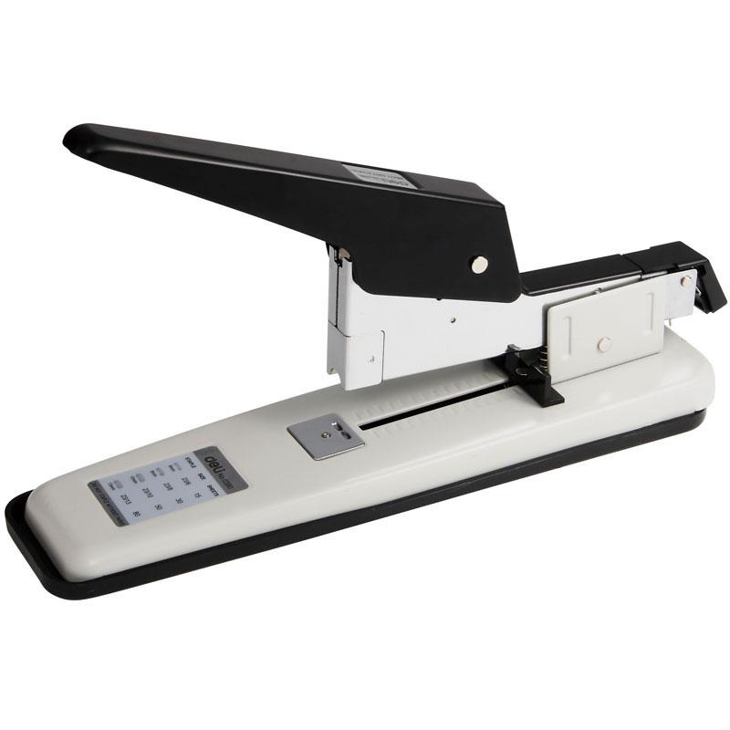 得力0390重型订书机 80页厚 订书器 装订机23/13厚层订书机