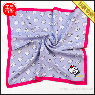 McDonald s Europe collar flower silver hello kitty Hello Kitty scarf scarves scarf scarf M2022