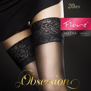 Parkside import stockings Poland Fiore Milena 20D elegant classic lace transparent non slip stockings