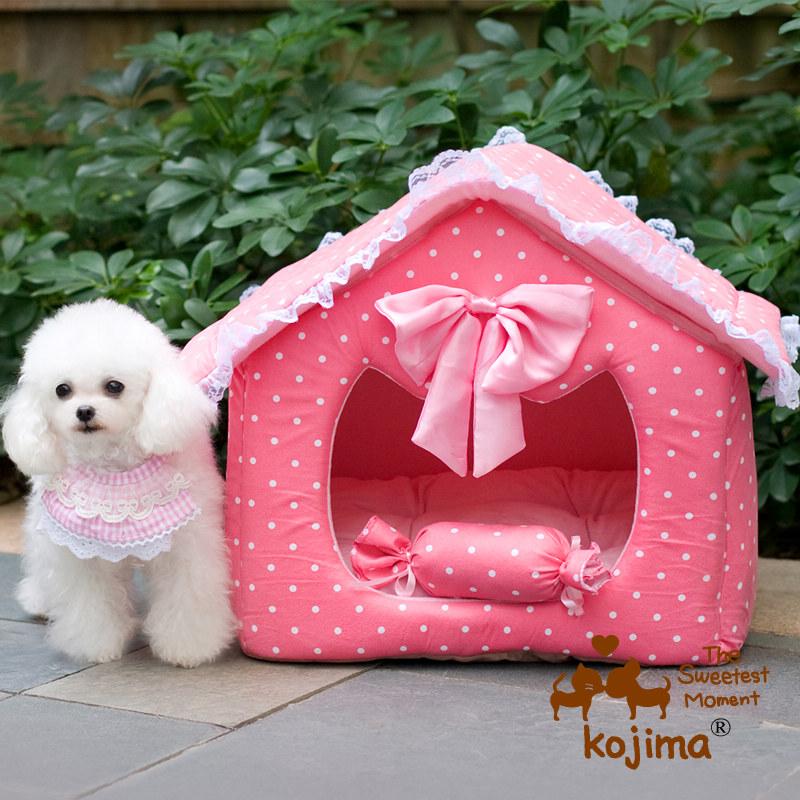 1 пакет почты Тедди Кодзима Принц и Принцесса хлопок дом собака гнездо собака кровати гнезда