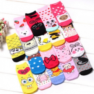 Ms socks Korea cute cartoon socks stall wholesale socks socks socks socks student socks wholesale autumn