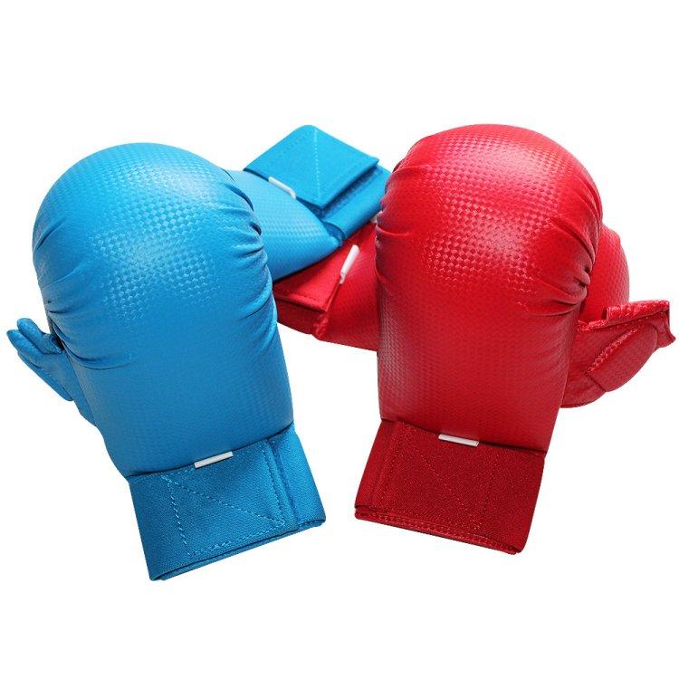 Каратэ защитный боксерский тахвондо перчатки принуждать перчатки Скользящий шарик после формования лайнера большим пальцем