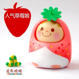 Japan Bandai voice nodding doll genuine authentic Valentine's Day gift ideas birthday gifts motherfucker strawberries