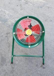 上海钱福岗位式风机 带支架强力排风扇 低噪声 全铜 3-7号