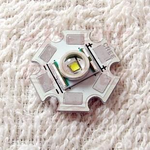 原装正品 美国可瑞CREE 5W Q5-WC大功率LED灯珠 正白光 带20MM板
