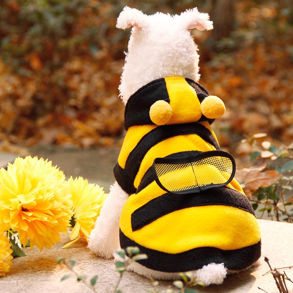 Зимние пчелы кролик плюшевого щенка погладить одежду, украшения VIP медведь щенок cat составляют погрузки