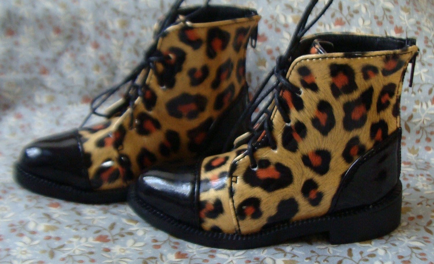 Leopard new shoes other / other BJD shoes over 6 years old ob11 baby head polished shoes
