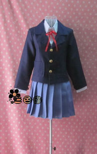 Pansies custom cosplay light tone girl student uniforms uniforms Azusa meow