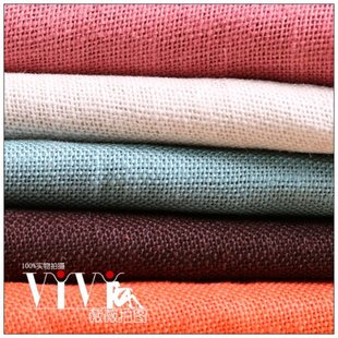 Colored linen burlap photographed background fabric photography props shop shooting Taobao nonwoven fabric 58
