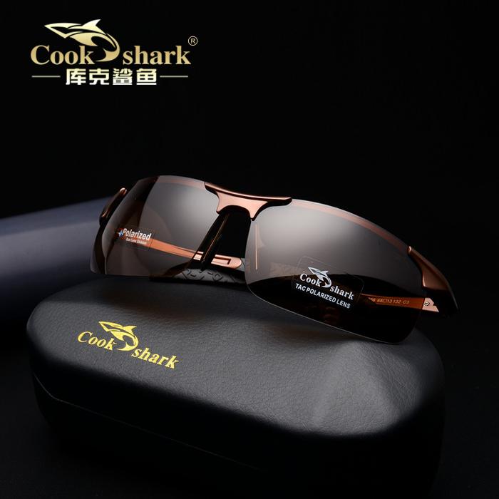 «Сегодняшние продажа» cookshark приготовить акула поляризационные очки солнцезащитные очки солнцезащитные очки водителя зеркало