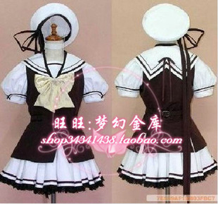 Anime cos sailor suit school uniforms costumes Korea costumes uniforms uniforms Japanese school uniform