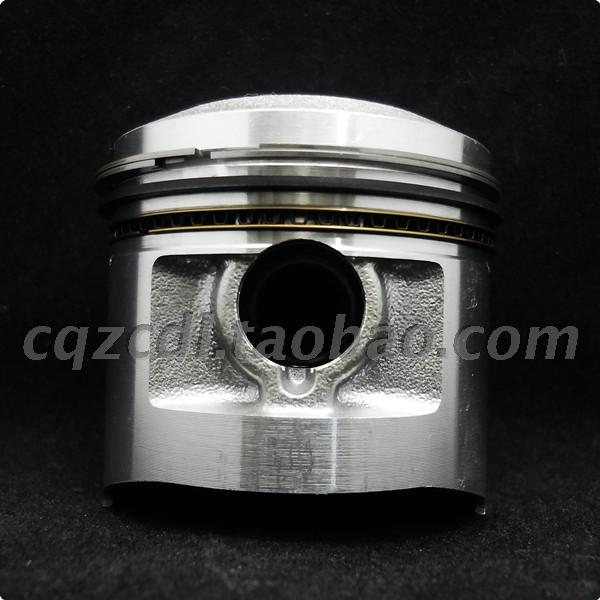 Zhencheng 56.5mm Hubei Shenfeng fositi 125 silver steel CB125 oil saving and emission reduction improving power piston ring