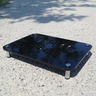 京宝无线路由器外置散热 收纳架降温底座 多功能可组合置物架子