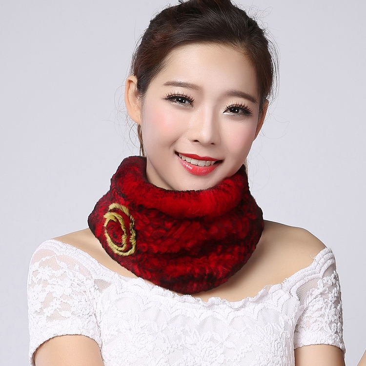 2015 new Rex rabbit fur fur scarf for women in autumn and winter