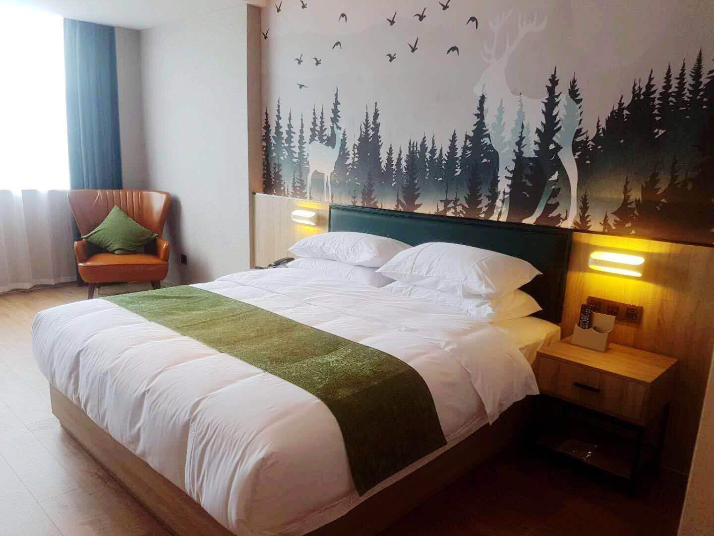 衡陽綠意陽光酒店(常寧店)精致大床房