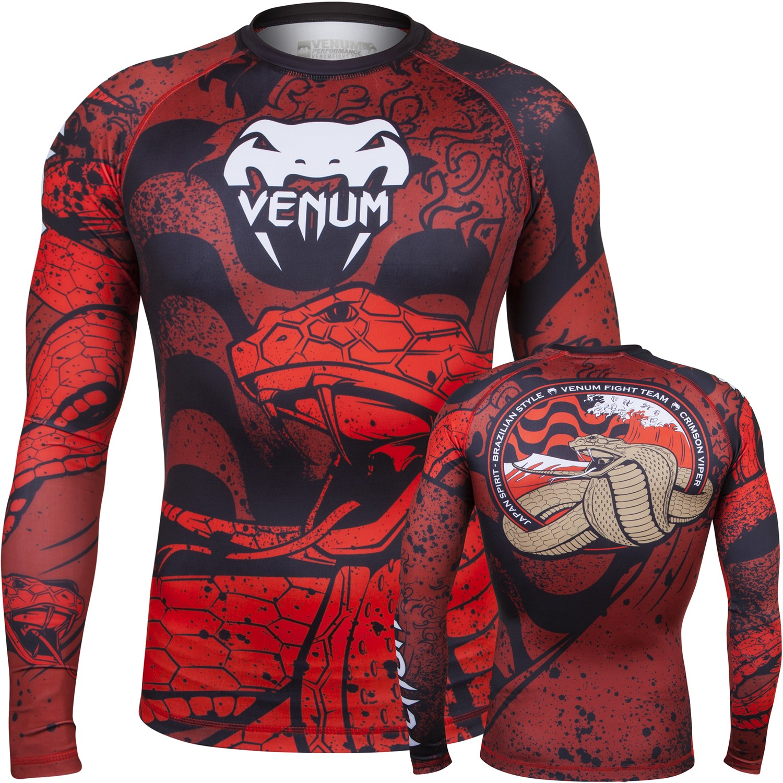 Venum Crimson Viper Short Sleeve Rashguard?????MMA.UFC