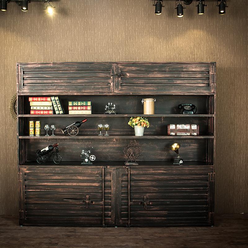 LOFT воспоминания промышленность ветер железо ретро коллекция упаковка комод бар тайвань вино хранение шкаф хранение кабинет этаж