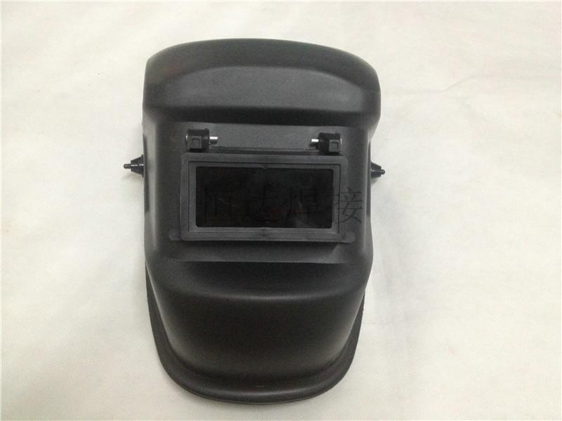 加厚法式头戴电焊面罩配送黑白镜片焊接防护面罩精品头戴电焊面罩