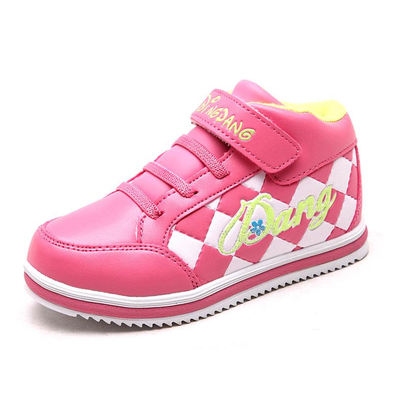 小叮當秋 女童鞋棉鞋中大童兒童保暖 鞋加絨中幫童鞋潮