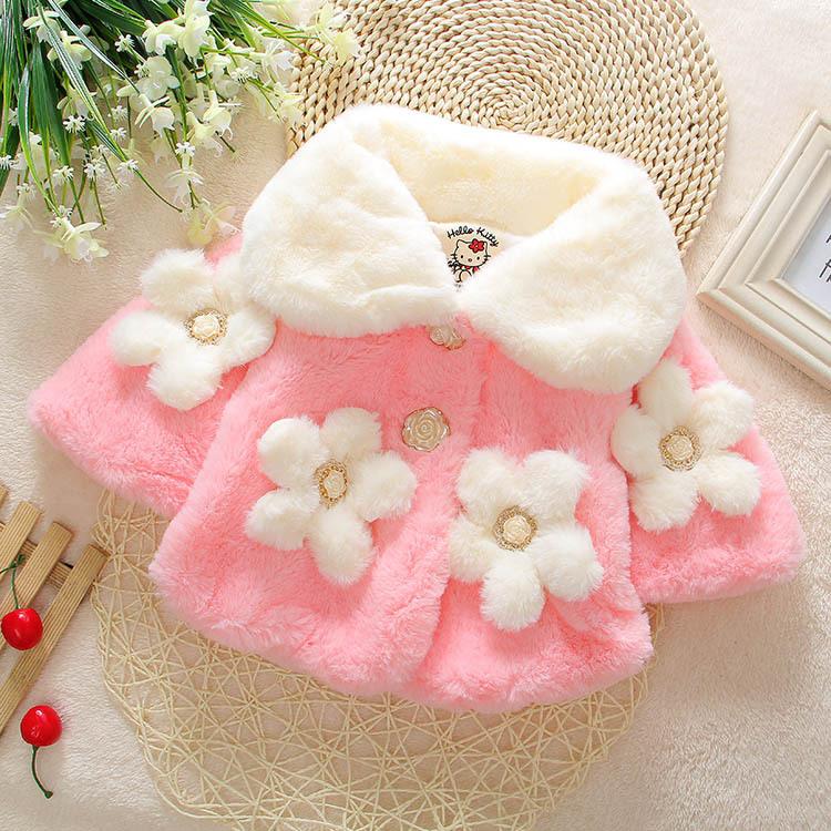 2016, дети с корейской версии маленькая принцесса младенца девочек faux шубы для осень/зима шаль стиль 1-2-3-4