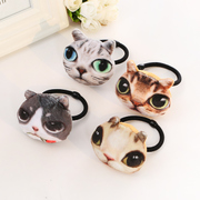 Know Richie to stay cute cute stereo cats hair tie rope made by CAT hair band hair band hair jewelry
